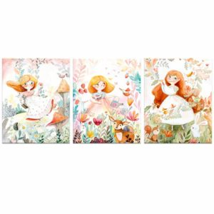 Fairy canvas print set