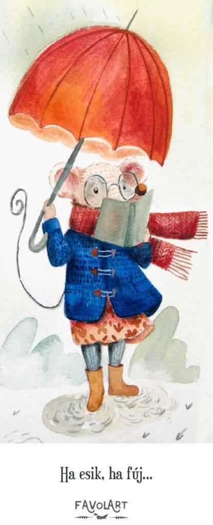 Nektek melyik tetszik igazán? A gyors róka aki szinte eszi a könyveket, vagy a kisegér aki mindehova képes elvinni olvasnivalóját, vagy a nyuszi, aki megadja a módját az olvasásnak?