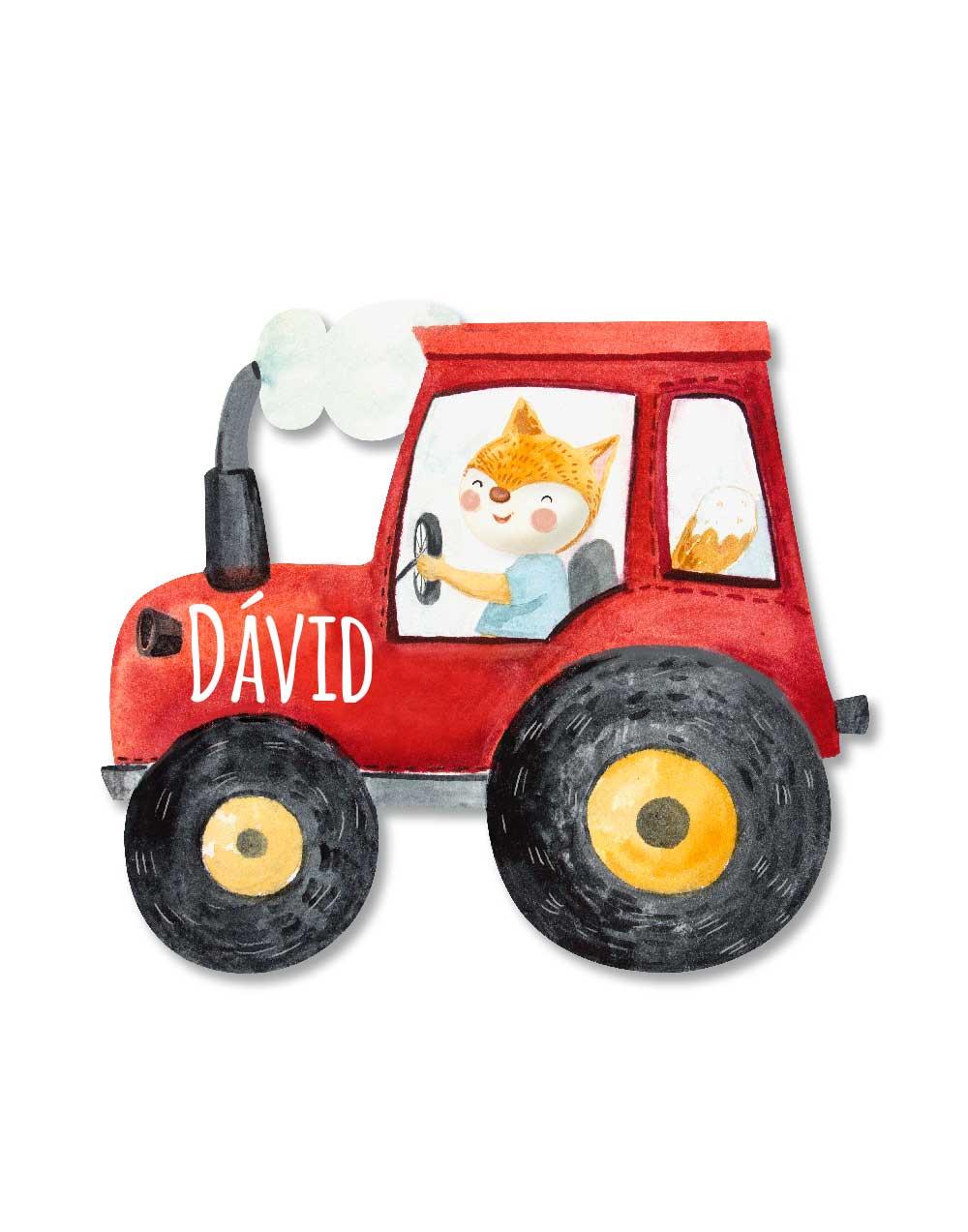 traktor nevtabla